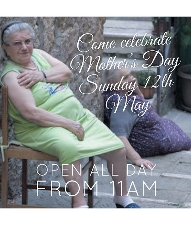 Mother's Day is coming up and we're open all day. Make your bookings now online or call us 02 9609 6264.