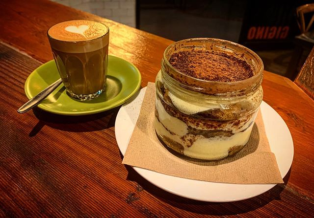 We're open for lunch today at 11:30am and we also have the best homemade tiramisu ?