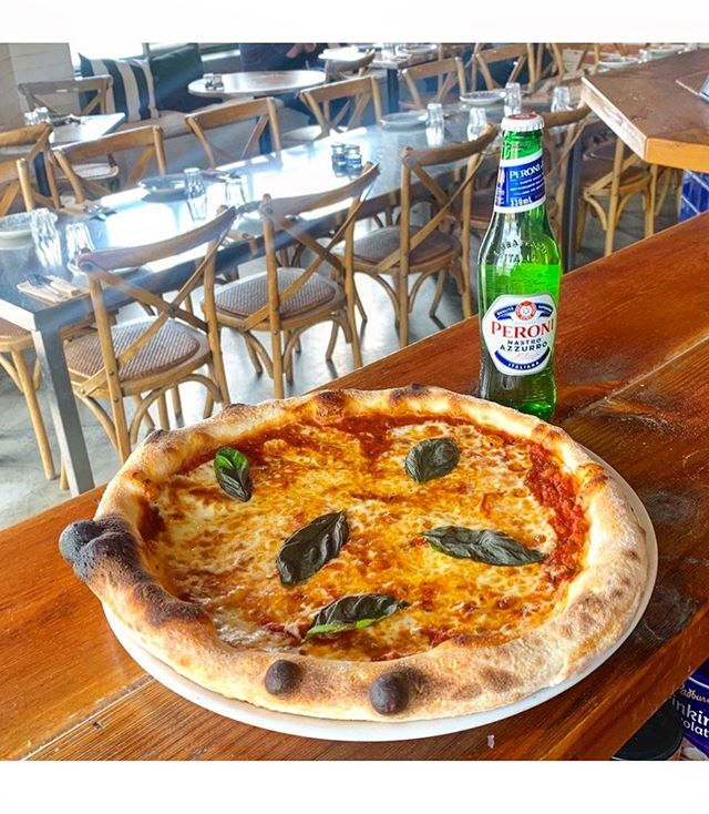 Tonight's we're doing Margherita pizza with  Peroni for $20 to celebrate State Of Origin...We're open from 5:30pm